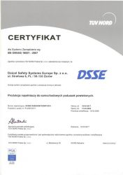 Daicel Safety Systems PCA-OHSAS