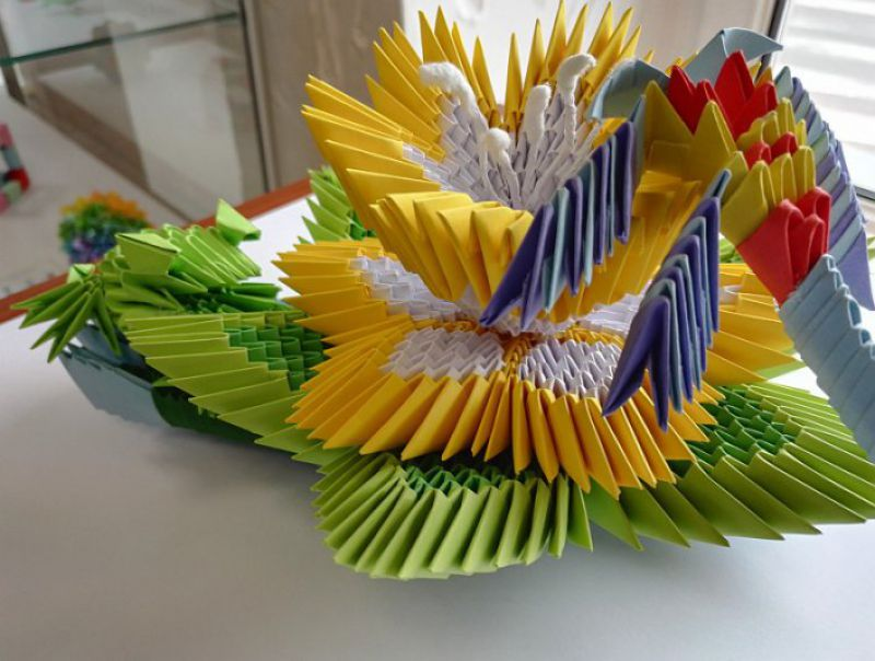 Iv Festival Of Origami Paper Wonders News Daicel Safety